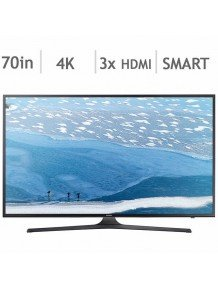 "SAMSUNG 70"" SMART 4K UHD LED TV UN70KU6290 BRAND NEW"