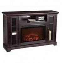 KINGWOOD ENTERTAINMENT UNIT MEDIA ELECTRIC FIREPLACE 55″ TV STAND